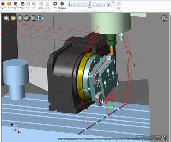 Perangkat Lunak Simulasi Rekan Kerja Memungkinkan Produksi Bagian-Kustom